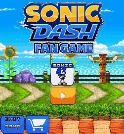 sonic fan games online sonic dash pc gameplay gameonlineflash com