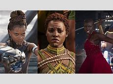 The women in Wakanda show that at least in a fictional
