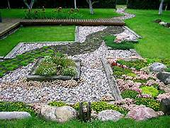 BACK TO Let S Rock 20 Fabulous Rock Garden Design Ideas Landscape Walkway Garden Pictures LandscapeAdvisor Rock Pathway Pathways And Mexican Ceramics On Pinterest Planning A Backyard Path Gravel Paths The Family Handyman