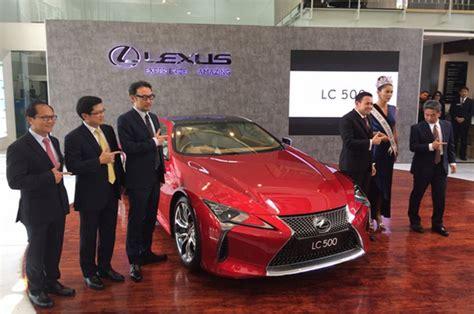 harga rp4 29 m lexus lc 500 sudah laku 5 dari 10 jatah untuk indonesia okezone otomotif