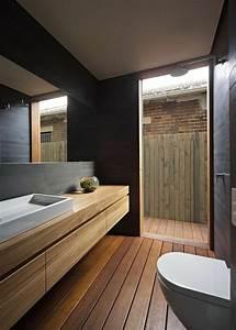 mille idees damenagement salle de bain en photos With sol gris quelle couleur pour les murs 5 quelle couleur salle de bain choisir 52 astuces en photos