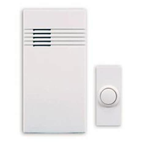 home depot door bells heath zenith wireless battery operated door chime kit dl