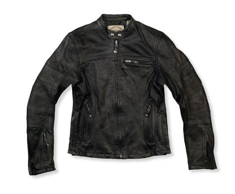A Classic Women's Motorcycle Jacket