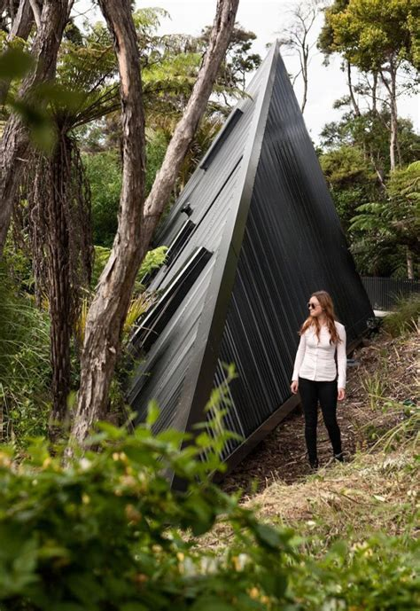 A Tent Inspired House That Lives Among The Trees In New