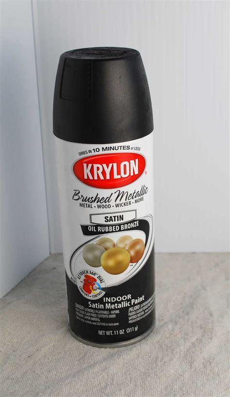 diy table refinish spray paint style