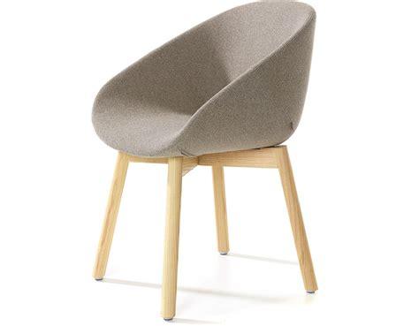 Beso Wood 4 Leg Armchair   hivemodern.com