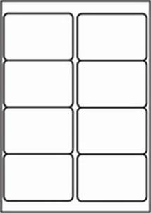 l7165 8 labels per page 8 up per a4 sheet With 8 up labels