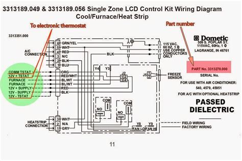 Wiring A Furnace And Air Conditioner by Wiring Diagram For Coleman Rv Air Conditioner Wiring Diagram