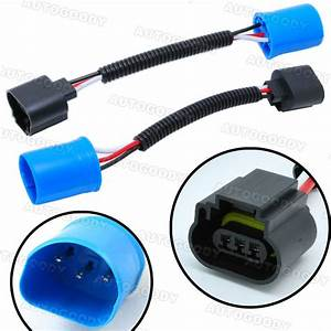 9007 To H13 Headlight Conversion Pigtail Connector Wire
