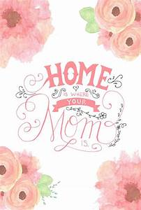 33 Free, Printable Mother's Day Cards She'll Love