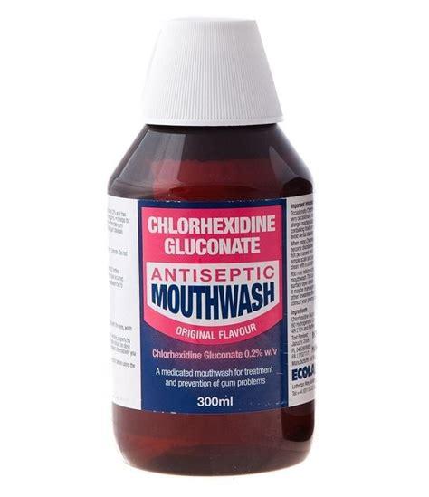 Chlorhexidine Gluconate Chlorhexidine Gluconate Antiseptic Mouthwash Original