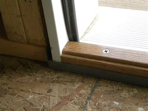 exterior door threshold aluminum replacement : Best