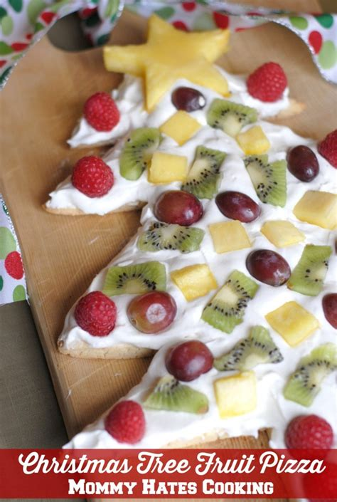 holiday fruit pizza tree fruit pizza hates cooking