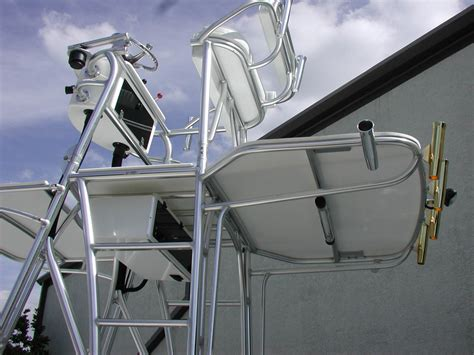 Skiff With Tower by Carolina Skiff Flats Boat And Bay Boat Towers Photo Gallery