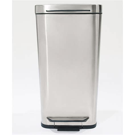Oxo Kitchen Garbage Cans by Oxo Brushed Stainless Steel Trash Can In Stainless Steel