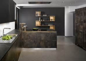 Brands Of Kitchen Cabinets by German Kitchen Brand Launches Stunning Stone Veneer Kitchen