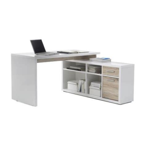 bureau avec angle bureau avec console 140 cm bureaux droits d