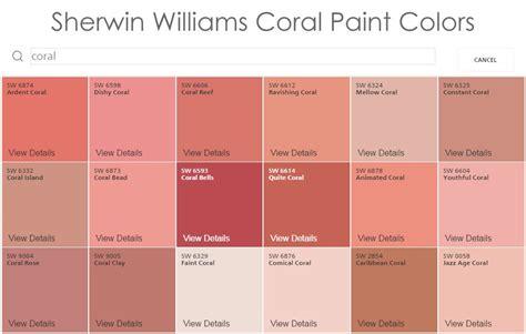 coral paint colors popular millennium paints collection