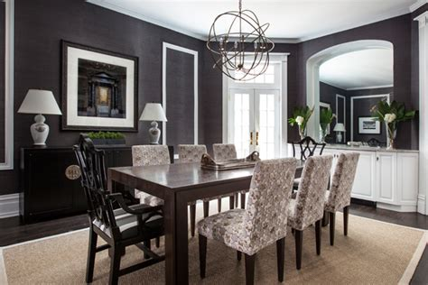 94+ [ Charcoal Gray Dining Room ]  Rowyn Wood Extending