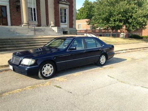 1995 mercedes benz s600 v12 limousine. Find used 1995 Mercedes-Benz S600 Sedan 4-Door 6.0L Blue ...