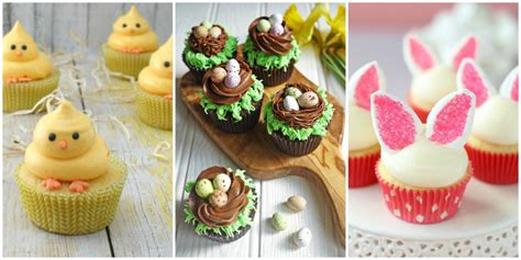 Ideas For Easter Cupcakes by 21 Easter Cupcakes Easy Ideas For Easter Cupcake Recipes