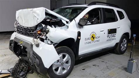 crash test dacia duster crash test le dacia duster se contente de trois 233 toiles