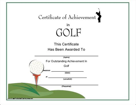 Golf certificate templates for word costumepartyrun golf certificate templates for word 28 images 6 word yelopaper Choice Image