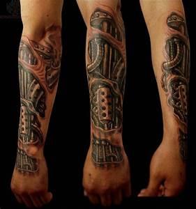 Tattoos Männer Unterarm : 1001 ideen und ispirationen f r ein cooles biomechanik tattoo tattoos pinterest tattoo ~ Frokenaadalensverden.com Haus und Dekorationen