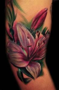 Lilie Symbolische Bedeutung : lilien tattoo 25 eindrucksvolle und inspirierende ideen f r frauen ~ Frokenaadalensverden.com Haus und Dekorationen
