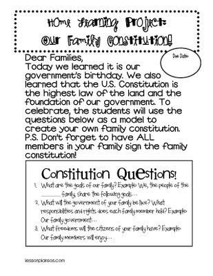 11 Best Images Of Constitution Activity Worksheets  Constitution Day Printable Worksheets