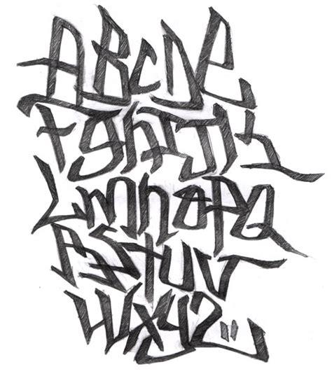 imagenes abecedario en graffiti bomba imagui