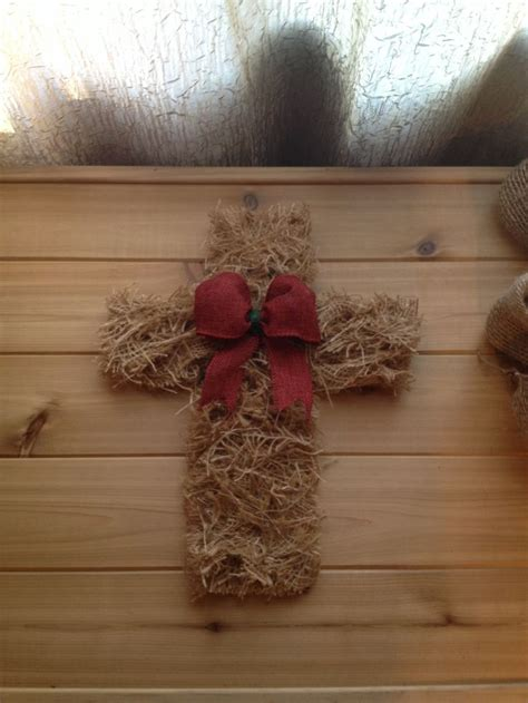 xmas crafts on pinterest with burlap