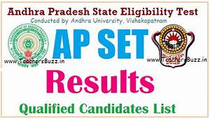 Apset 2020 Results  Cut Off Marks  Qualified Candidates List