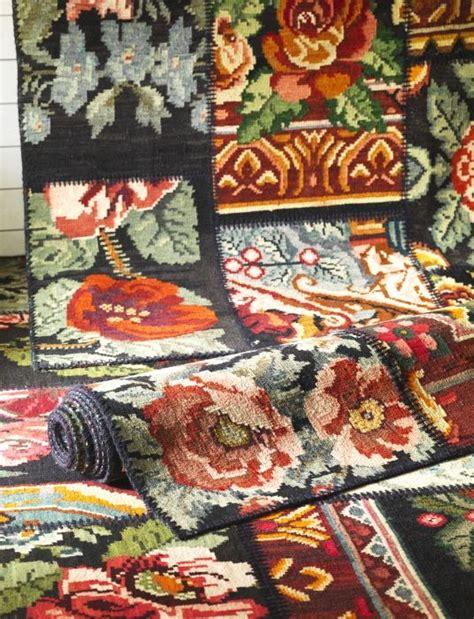 teppich türkis vintage silkeborg vloerkleden ikea uniek vintage kleed vloerkleed patchwork bloemen tapijt