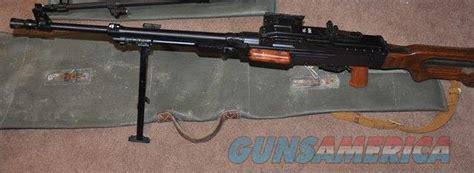 Pkm Light Machine Gun (semi Auto) Belt Fed, Wis... For Sale