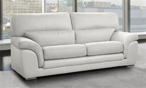 photos canapé convertible cuir blanc pas cher le petit canapé cuir blanc pas cher du moment