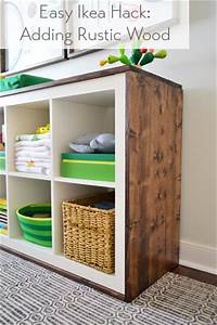 Ikea Hack Expedit : an easy ikea hack bookcase to wood wrapped changing table young house love ~ Markanthonyermac.com Haus und Dekorationen