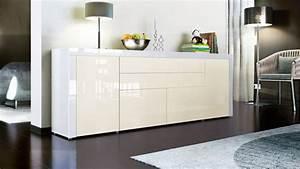 Sideboard Sonoma Eiche Wei Hochglanz Free Sideboard Weiss