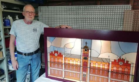 karwei driebergen de nieuwsbode heuvelrug plek voor glas in lood kunstwerk
