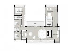 U Shaped House Floor Plans Photo u shaped one story house u shaped house plans garden home