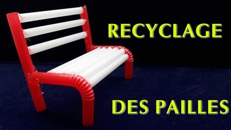 comment faire des dessus de chaise créatif comment faire des chaise pailles simples recyclage des pailles