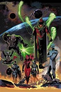 Marvel, Announces, Uncanny, Avengers, 1, Spinning, Out, Of, Axis