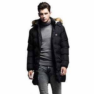 Trends Men Jacket Winter Coat Men Warm Thick Zipper Parkas ...