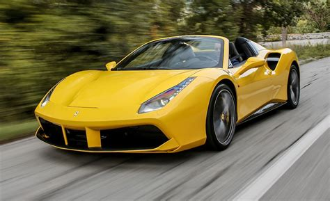 Ferrari Car : 2016 Ferrari 488 Spider First Drive