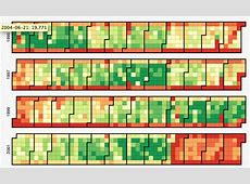 visualization How can I make a heatmap of a days in year