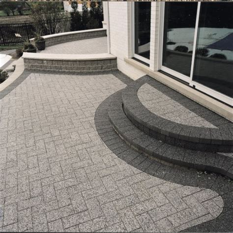 Unilock Patio Pavers - unilock paver patio with series 3000 photos