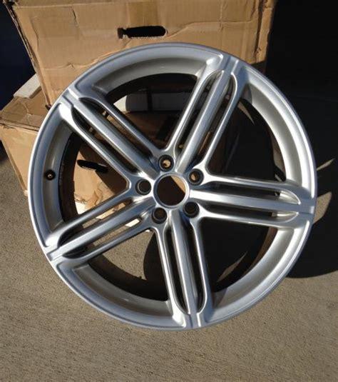 audi  audi     sport wheels hyper silver