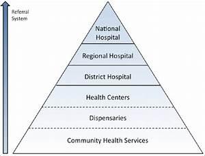 Diagram Showing Pyramid  Referral