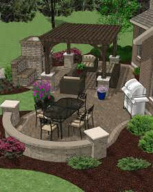 hardscape materials for patios patio hardscape accessory plans backyard decks