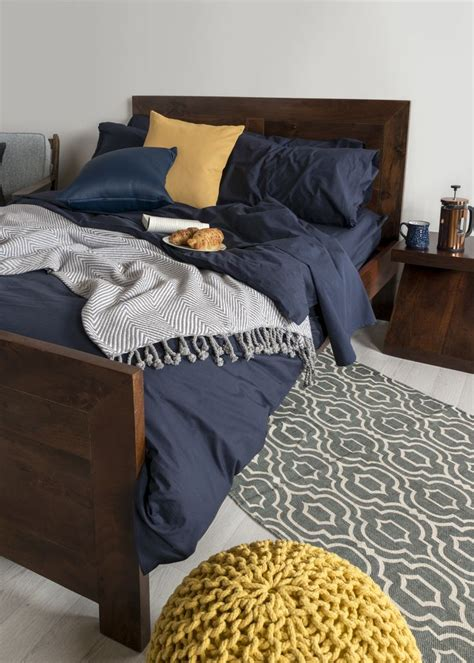 mix  match  egyptian cotton navy blue bed sheets